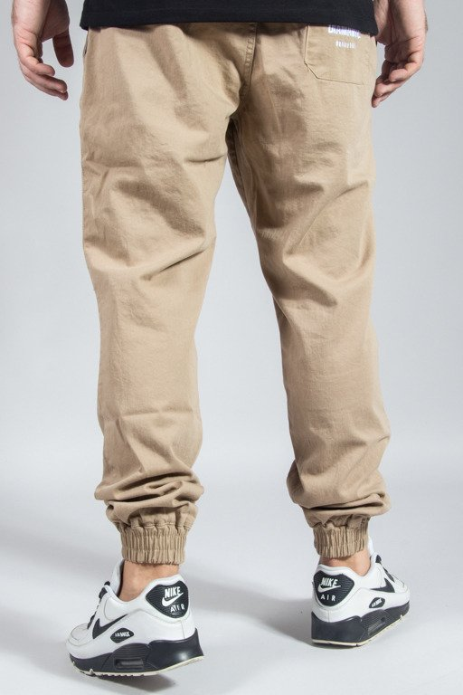 DIAMANTE WEAR PANTS CHINO JOGGER RM BEIGE