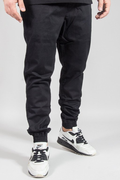 DIAMANTE WEAR PANTS CHINO JOGGER RM BLACK