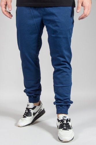 DIAMANTE WEAR PANTS CHINO JOGGER RM BLUE