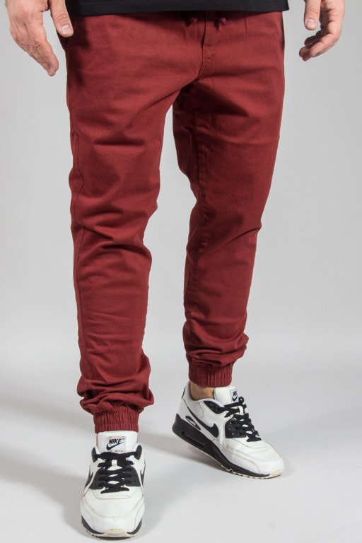 DIAMANTE WEAR PANTS CHINO JOGGER RM BRICK