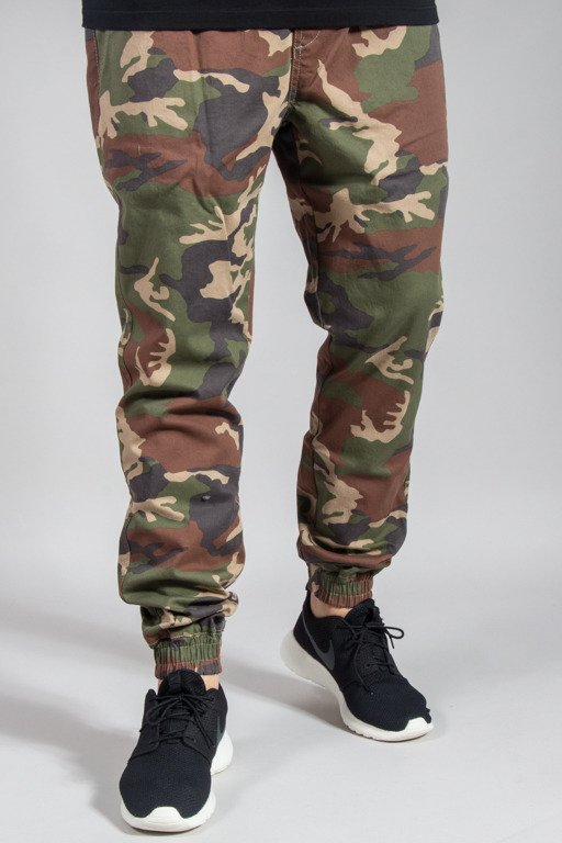 DIAMANTE WEAR PANTS CHINO JOGGER RM CAMO LIGHT