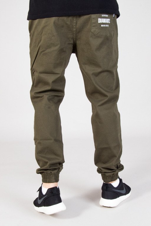 DIAMANTE WEAR PANTS CHINO JOGGER RM CLASSIC KHAKI