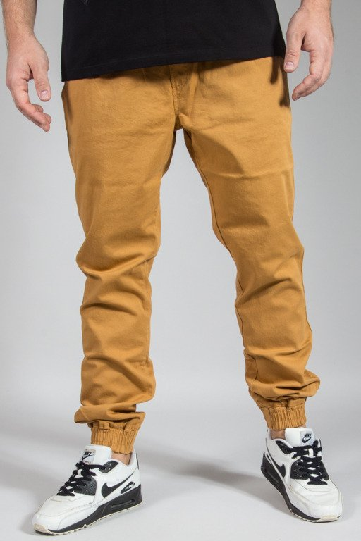 DIAMANTE WEAR PANTS CHINO JOGGER RM HONEY