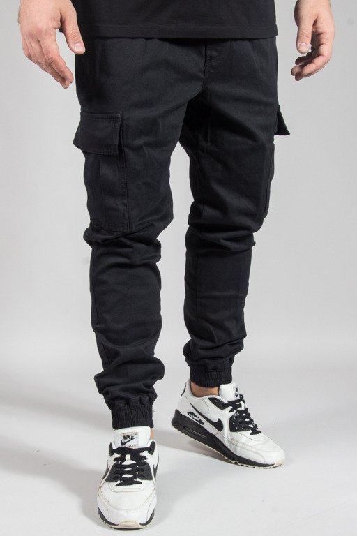 DIAMANTE WEAR PANTS CHINO JOGGER RM HUNTER BLACK