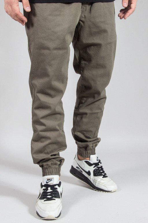 DIAMANTE WEAR PANTS CHINO JOGGER RM KHAKI