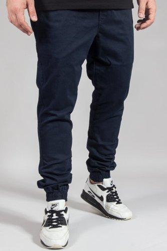 DIAMANTE WEAR PANTS CHINO JOGGER RM NAVY