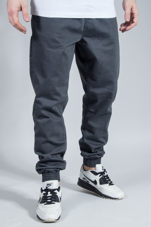 DIAMANTE WEAR PANTS JEANS JOGGER CLASSIC GREY