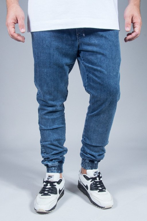 DIAMANTE WEAR PANTS JEANS JOGGER CLASSIC MARMUR