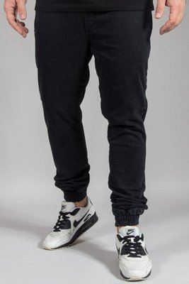DIAMANTE WEAR PANTS JEANS JOGGER RM BLACK