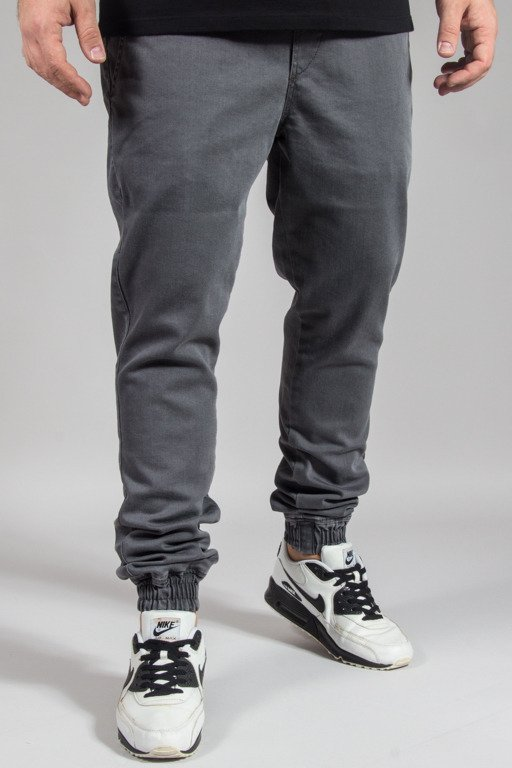 DIAMANTE WEAR PANTS JEANS JOGGER RM GREY