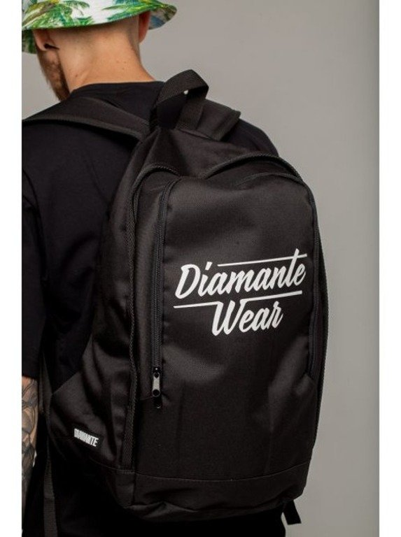 DIAMANTE WEAR PLECAK NEW LOGO BLACK