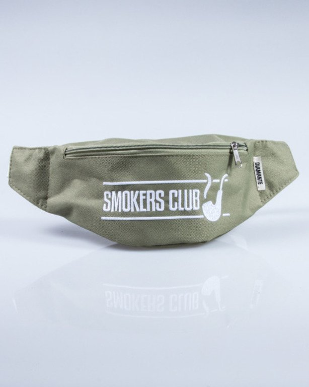 DIAMANTE WEAR SACHET SMOKERS CLUB KHAKI