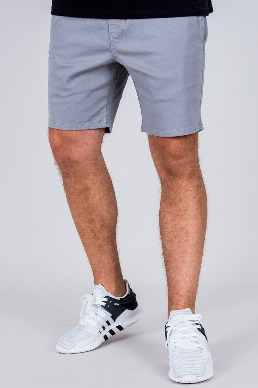 DIAMANTE WEAR SHORTS CHINO CLASSIC GREY