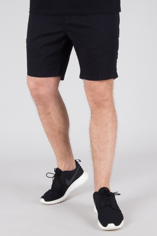 DIAMANTE WEAR SHORTS CHINO JOGGER BLACK