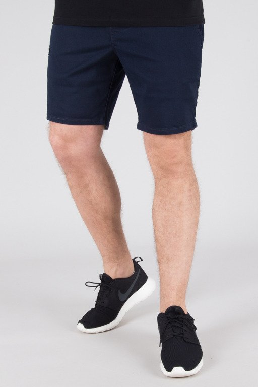 DIAMANTE WEAR SHORTS CHINO JOGGER NAVY