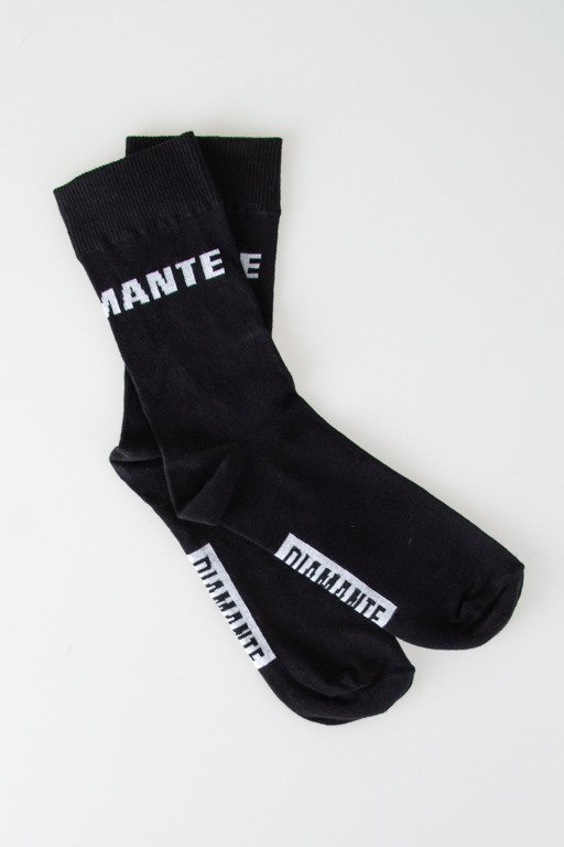 DIAMANTE WEAR SOCKS LONG CLASSY BLACK