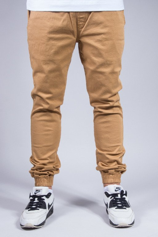 DIAMANTE WEAR SPODNIE CHINO JOGGER NEW CARMEL