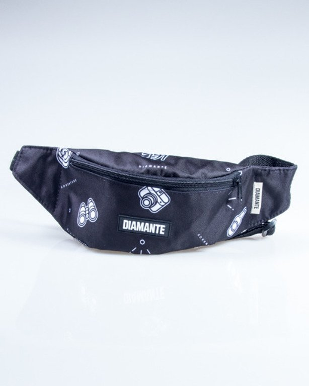 DIAMANTE WEAR STREETBAG ADVENTURE BLACK