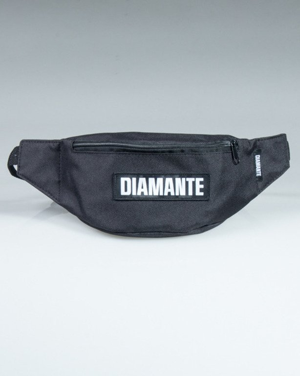 DIAMANTE WEAR STREETBAG BLACK LOGO BLACK