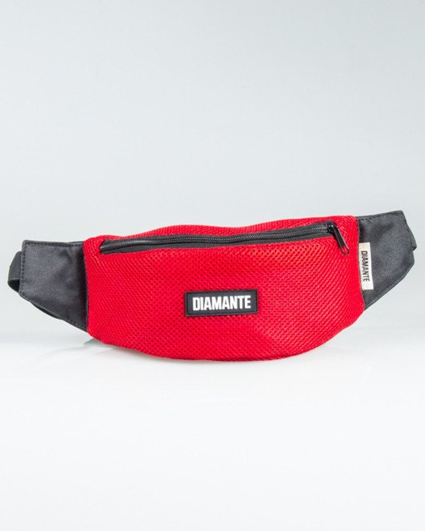 DIAMANTE WEAR STREETBAG RUN EDITION RED