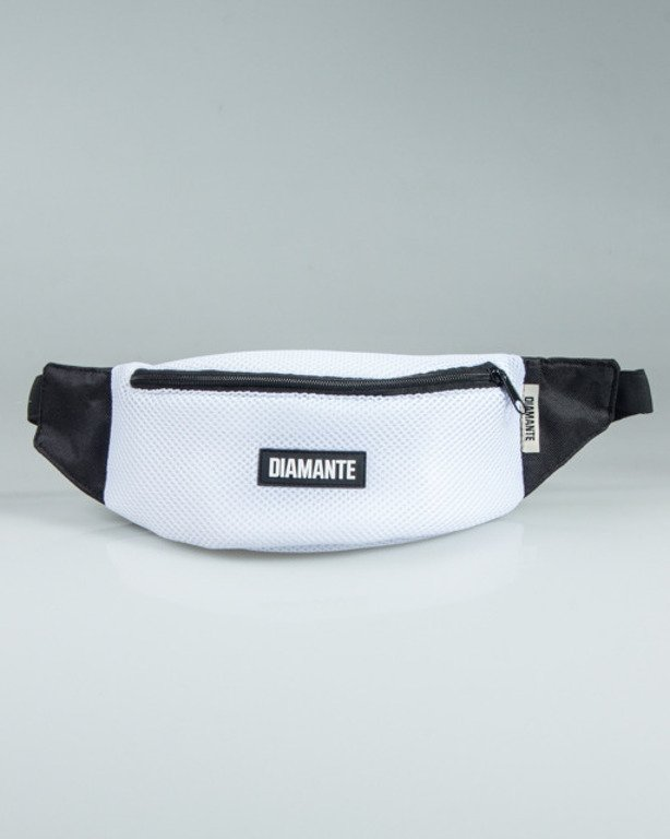 DIAMANTE WEAR STREETBAG RUN EDITION WHITE