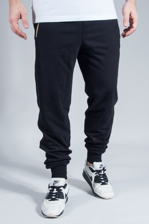 DIAMANTE WEAR SWEATPANTS BLACK