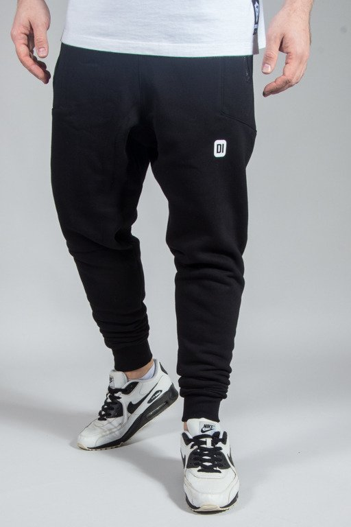 DIAMANTE WEAR SWEATPANTS HIPSTER BLACK