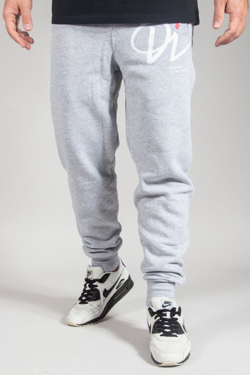 DIAMANTE WEAR SWEATPANTS HIPSTER FY HIGH MELANGE