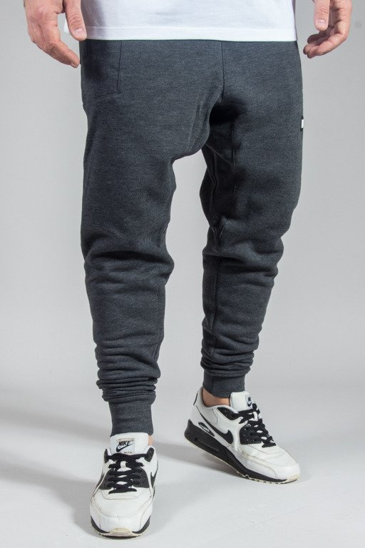 DIAMANTE WEAR SWEATPANTS HIPSTER GREY