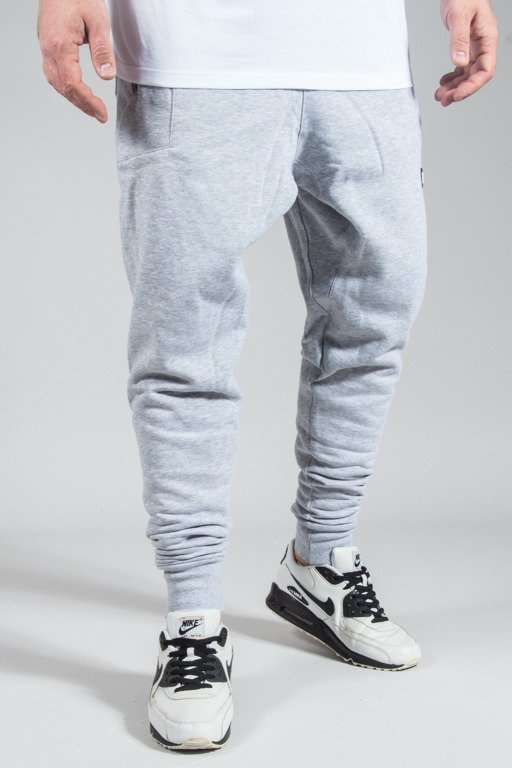 DIAMANTE WEAR SWEATPANTS HIPSTER MELANGE