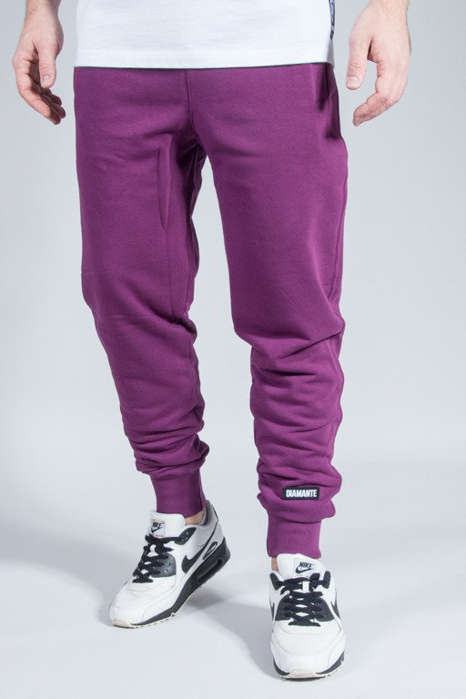 DIAMANTE WEAR SWEATPANTS VIOLET