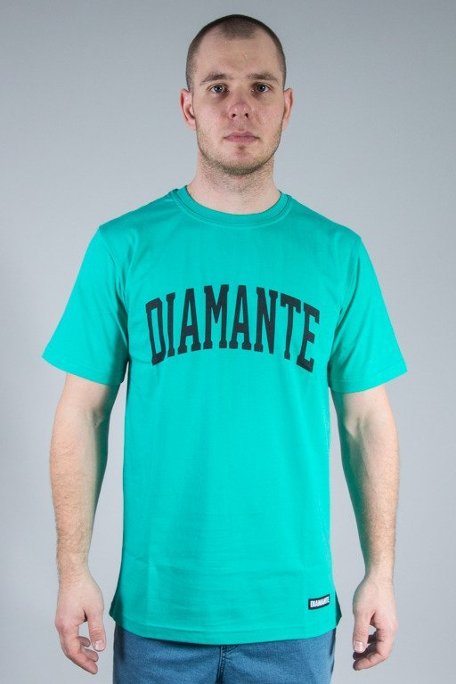 DIAMANTE WEAR T-SHIRT COLLAGE MINT