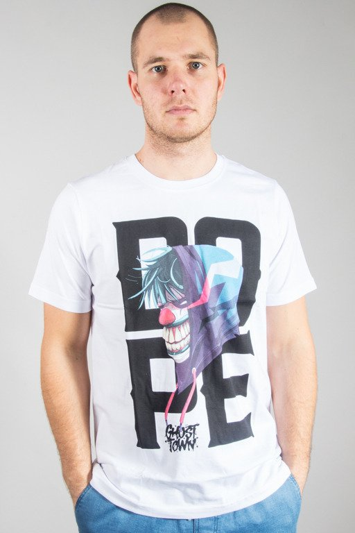DIAMANTE WEAR T-SHIRT DR DIGGLES WHITE