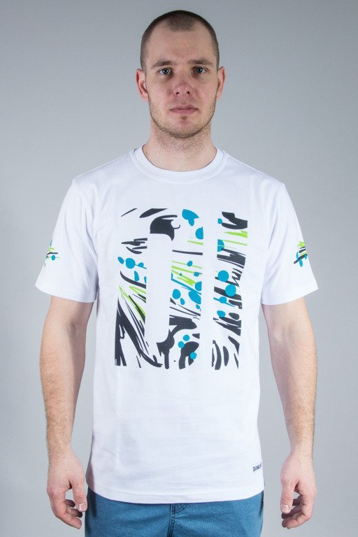 DIAMANTE WEAR T-SHIRT POLLOCK WHITE