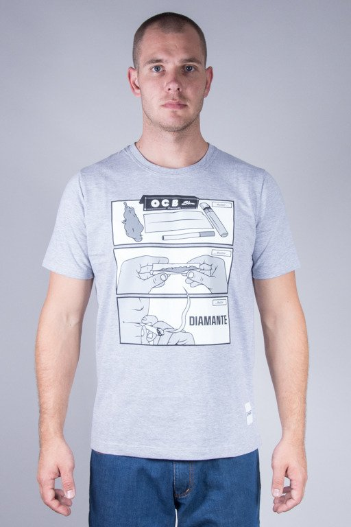 DIAMANTE WEAR T-SHIRT ROLLING MELANGE