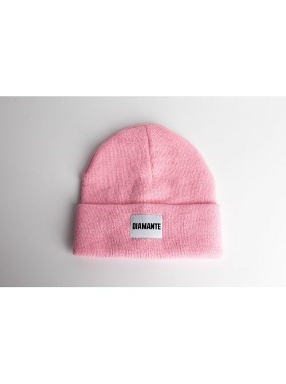 DIAMANTE WEAR WINTER CAP DIAMANTE PINK