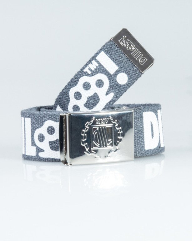DIIL BELT KASTET GREY-WHITE