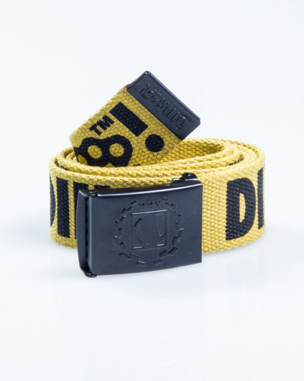 DIIL BELT KASTET YELLOW-BLACK