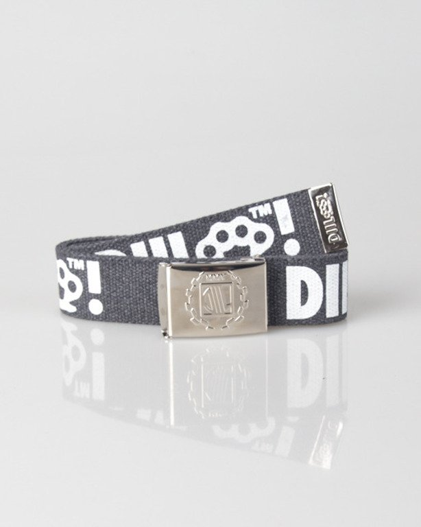 DIIL BELT LAUR GREY-WHITE