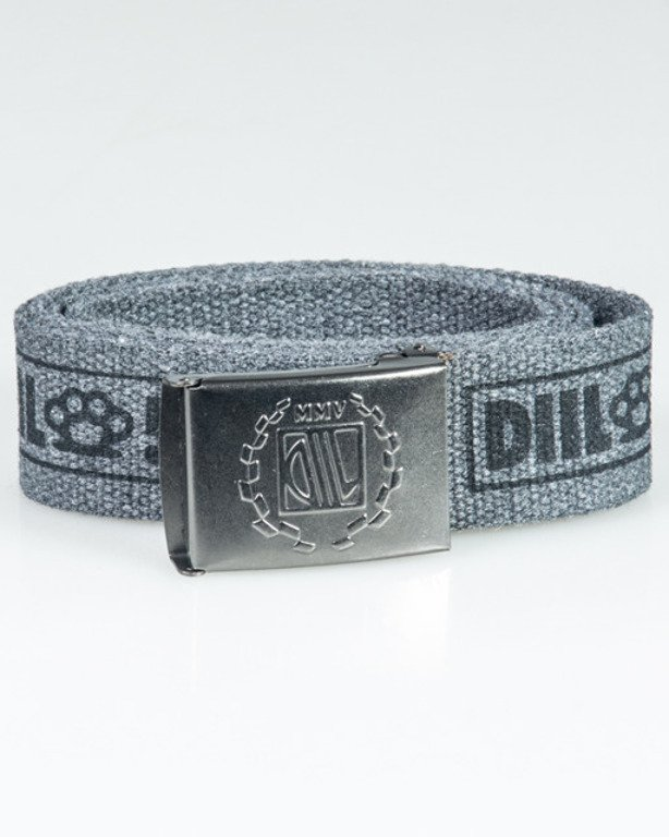 DIIL BELT SMALL THING GREY-BLACK