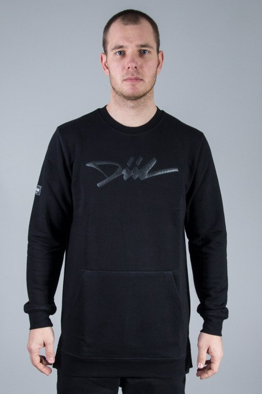 DIIL CREWNECK LONG SKY BLACK