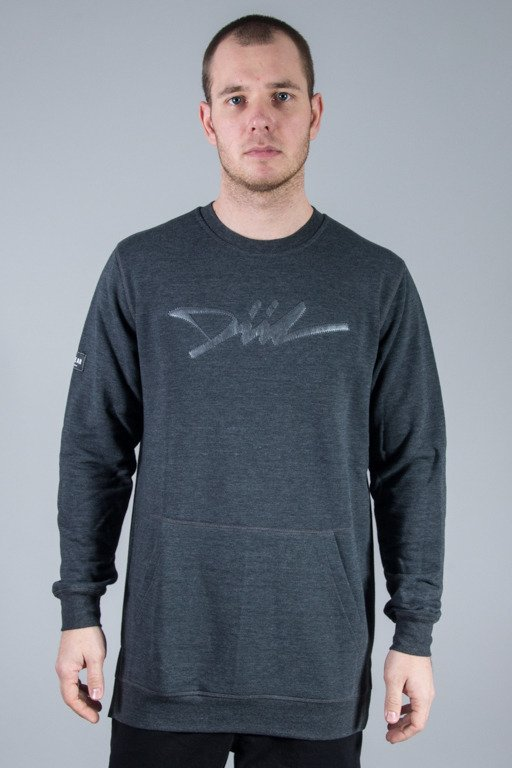 DIIL CREWNECK LONG SKY GREY