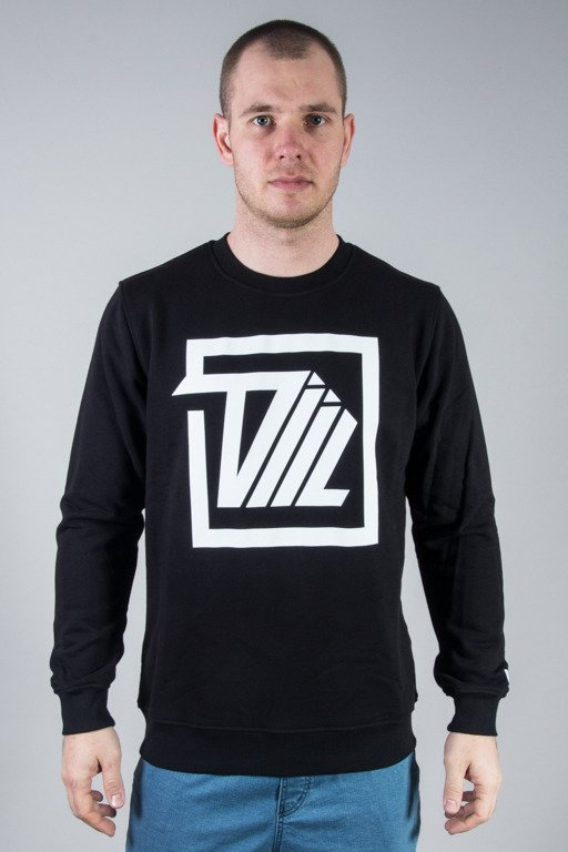DIIL CREWNECK NEXT LEVEL SQUARE BLACK
