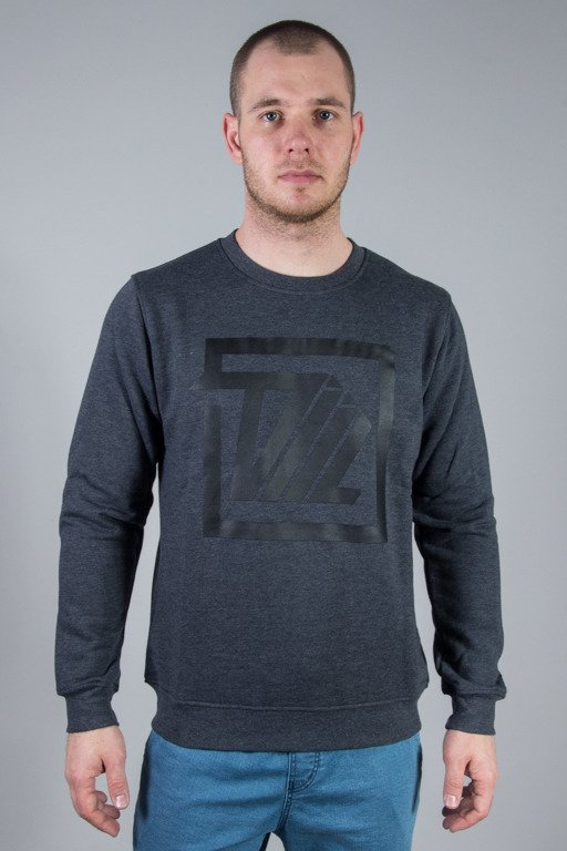DIIL CREWNECK NEXT LEVEL SQUARE GRPHITE