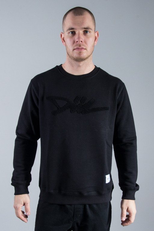 DIIL CREWNECK TAG BLACK