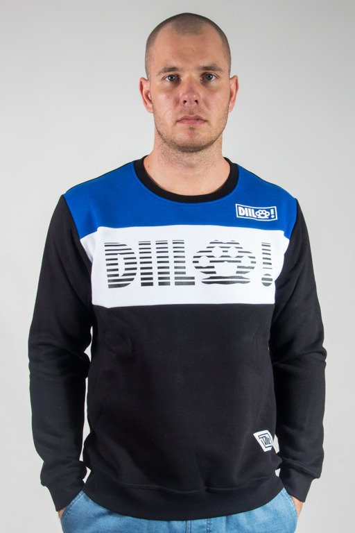 DIIL CREWNECK THREE COLOR BLUE