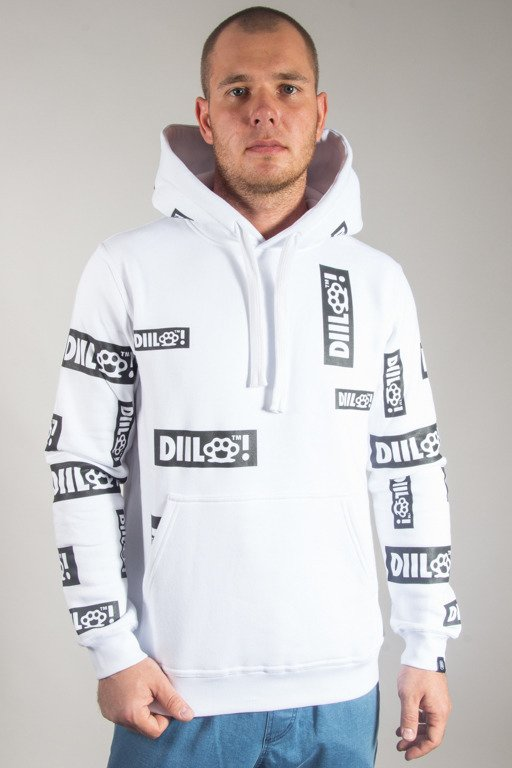 DIIL HOODIE ELEMENT WHITE