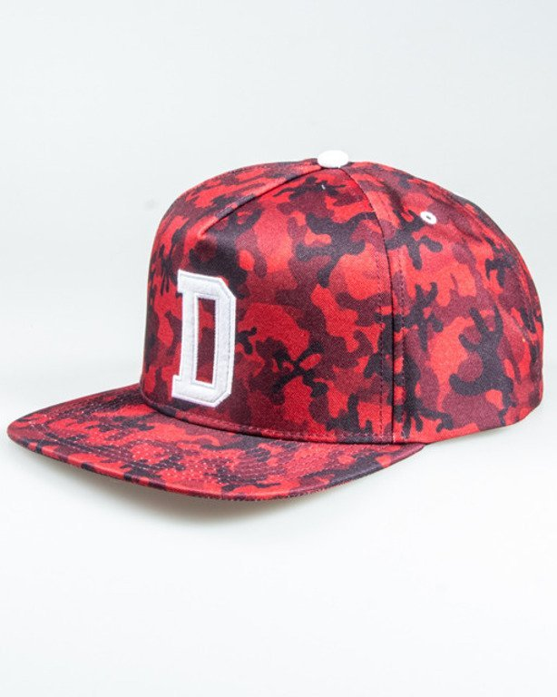 DIIL SNAPBACK ARMY FULL CAMO RED