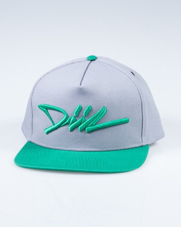 DIIL SNAPBACK DIIL TAG GREY-GREEN