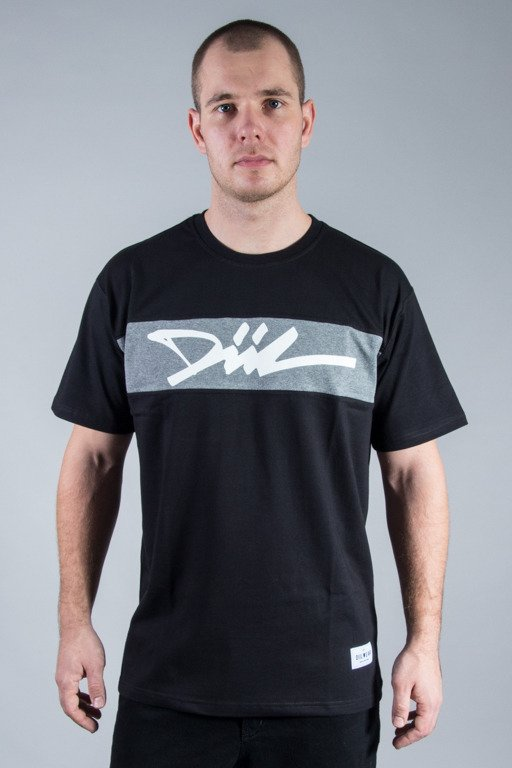 DIIL T-SHIRT CUT BLACK-GREY
